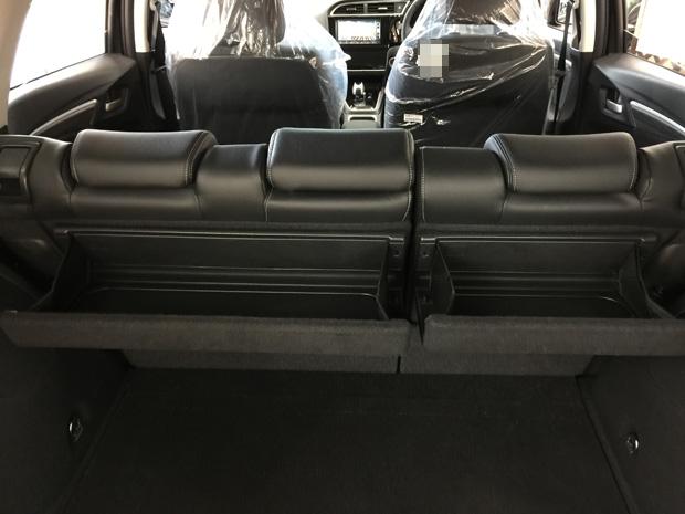 ホンダ・新型シャトルのトランクルーム