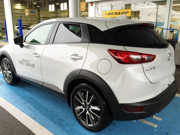 マツダ新型CX-3 XD Touring 試乗車