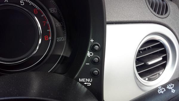 フィアット500S ライト4段階調整
