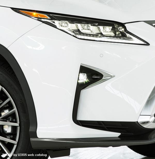 レクサス新型RX ヘッドライト