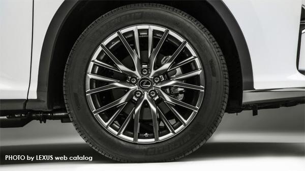 レクサス新型RX アルミホイール