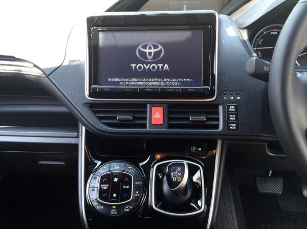 トヨタ新型エスクァイア エレクトロシフトマチック
