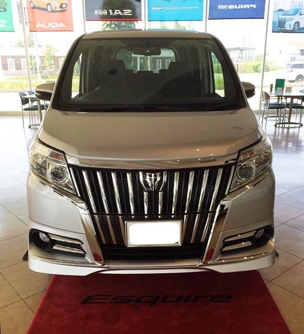 トヨタ新型エスクァイア ガソリン車