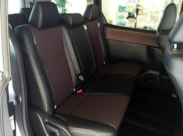トヨタ新型エスクァイア シート