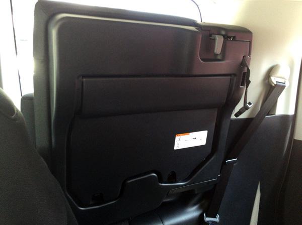 トヨタ新型エスクァイア シートアレンジ