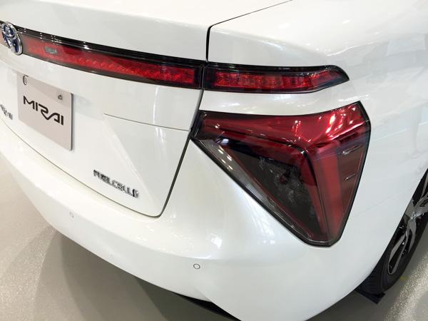 FCV燃料電池自動車トヨタMIRAI(ミライ) FUELCELLシンボルマーク