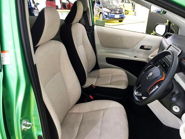 トヨタ新型シエンタ 内装