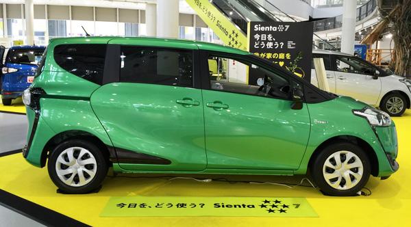 トヨタ新型シエンタ