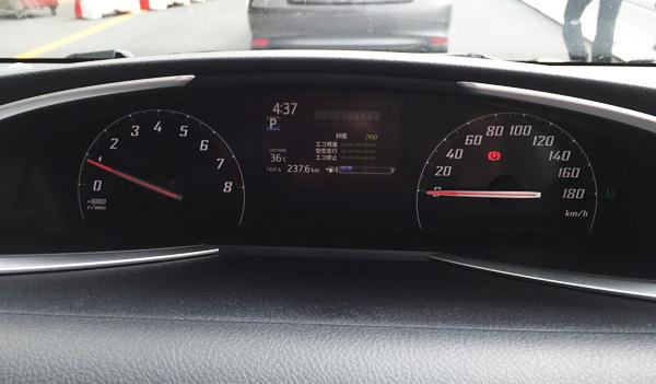 トヨタ新型シエンタ オプティトロンメーター