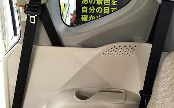 トヨタ新型シエンタ 3列目ボトルホルダー
