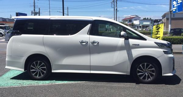 トヨタ新型ヴェルファイア
