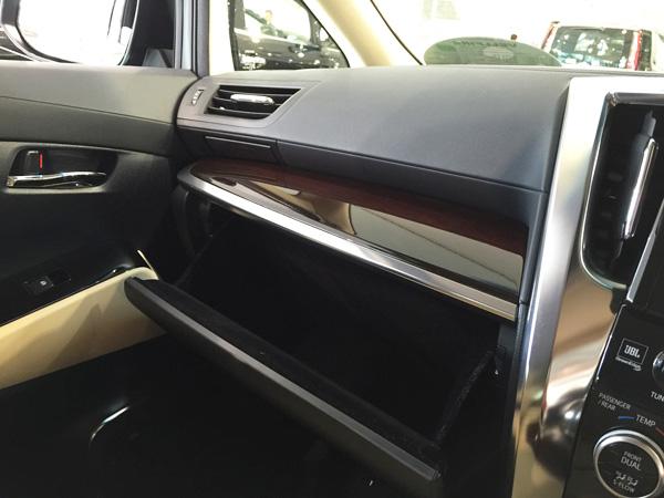 トヨタ新型ヴェルファイア ダッシュボード