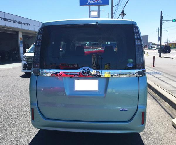 トヨタ新型ヴォクシー X
