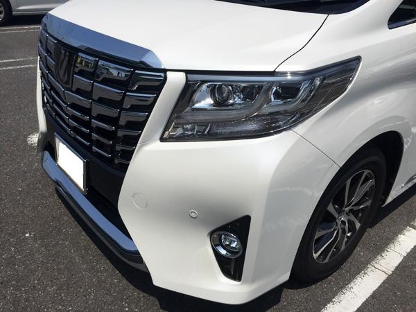 トヨタ30系新型アルファード ノーマル仕様車