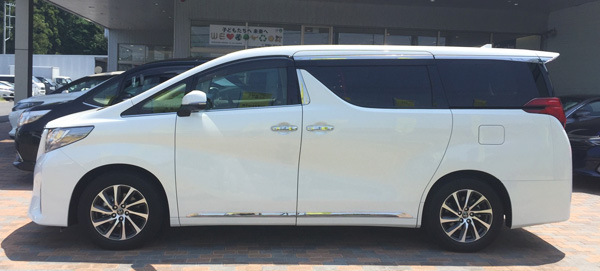 トヨタ30系新型アルファード Executive Lounge