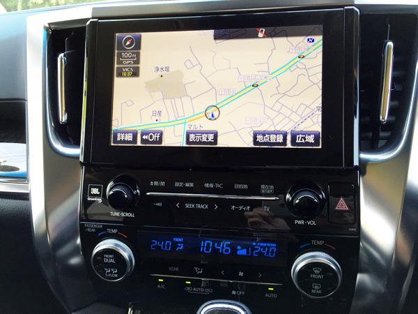 トヨタ30系新型アルファード エアコン