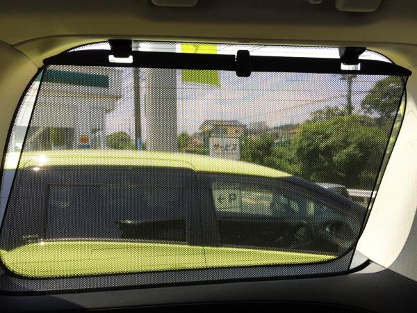 トヨタ30系新型アルファード 後席用サンシェード