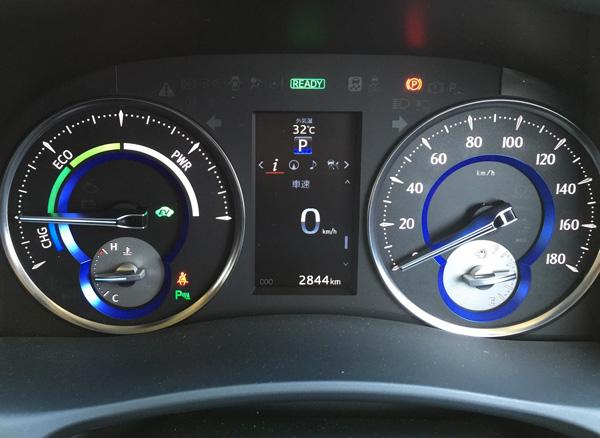 トヨタ30系新型アルファード メーター