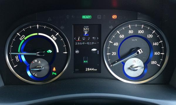 トヨタ30系新型アルファード インフォメーションディスプレイ
