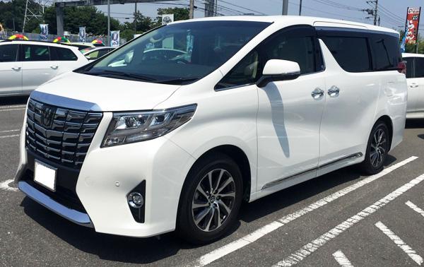 トヨタ30系新型アルファード