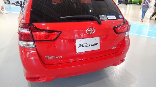 トヨタ・カローラ フィールダー