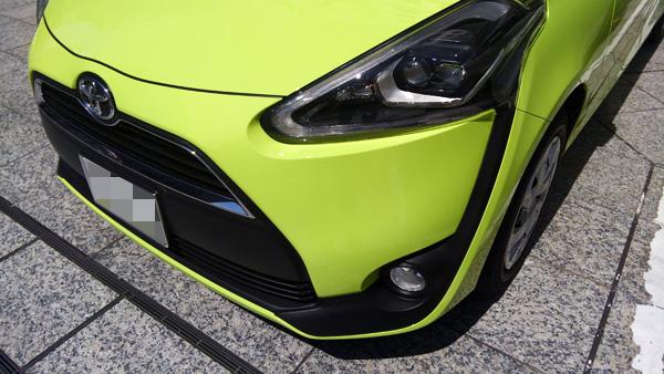 トヨタ新型シエンタ ヘッドランプ