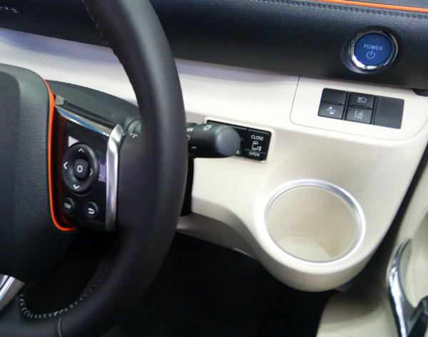 トヨタ新型シエンタ スタートボタン