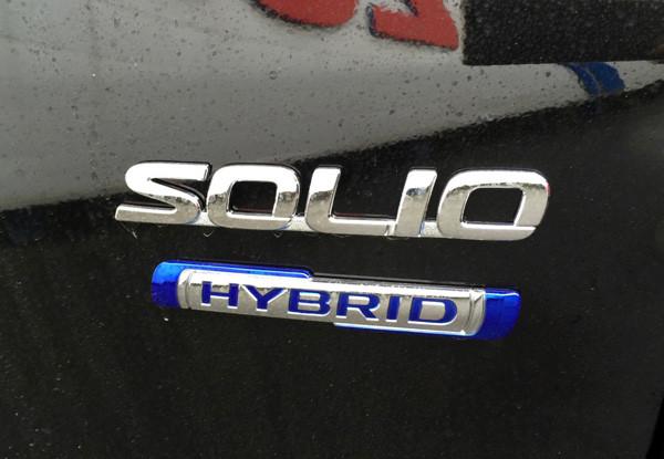 スズキ新型ソリオ HYBRID MX