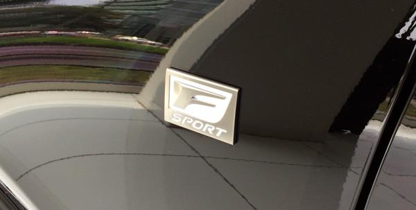 """レクサス・IS200t""""F SPORT""""エンブレム"""
