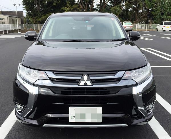 三菱・アウトランダーPHEV 1泊2日無料モニター用試乗車「G Navi Package」