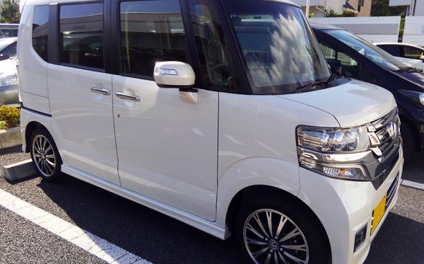 ホンダ・N-BOX 試乗車