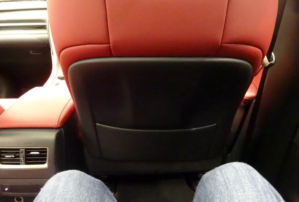 レクサス・新型RX200t Fスポーツ 後席足元