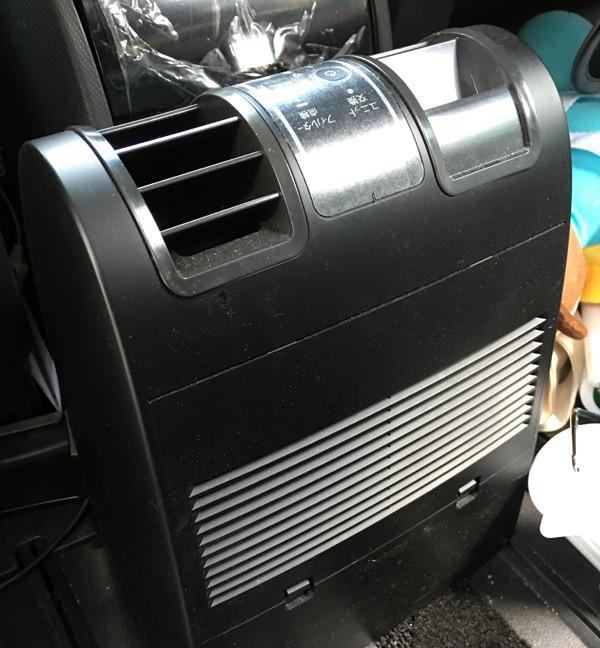 日産・セレナ 空気清浄機