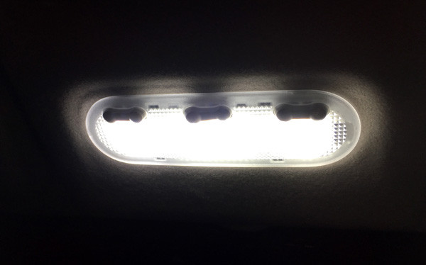 セレナ C26 SMD/FLUX/LEDルームランプセット 8P 133発