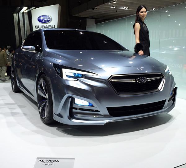 スバル・インプレッサ 5-door CONCEPT