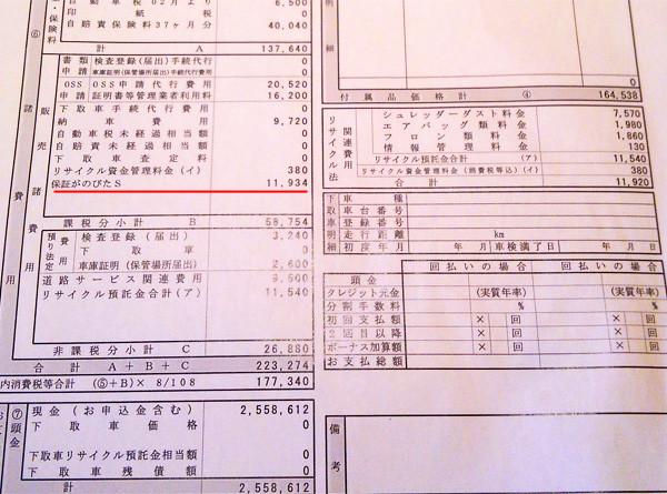 スズキ・新型エスクード 2WD車見積書「保障がのびたS」
