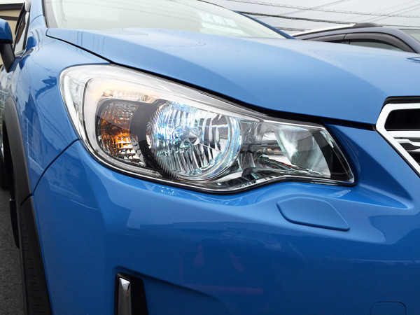 スバル・XV 2.0i-L EyeSight HIDロービームランプ点灯時