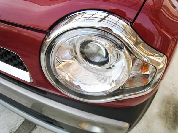 スズキ・ハスラー「G」2トーンルーフ仕様車 ディスチャージヘッドランプ