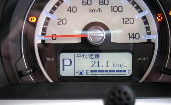 スズキ・ハスラー「G」2トーンルーフ仕様車 平均燃費