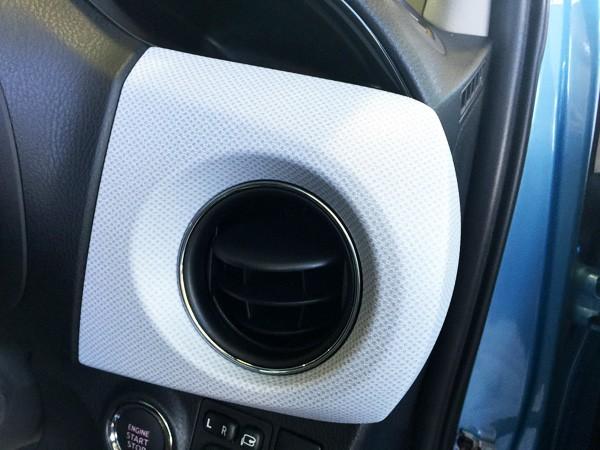 トヨタ・ヴィッツ 1.3 F Smart Style エアコン吹き出し口