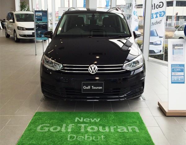 フォルクスワーゲン・ゴルフ トゥーラン 展示車