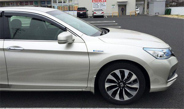 ホンダ・アコード ハイブリッド EX 225/50R17タイヤ&アルミホイール