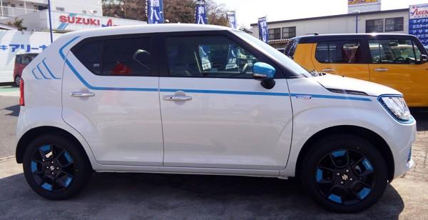 スズキ・新型イグニス  HYBRID MZ 4WD