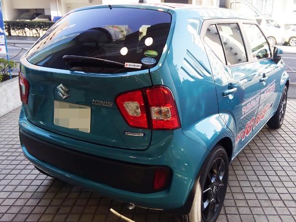 スズキ・新型イグニス HYBRID MX