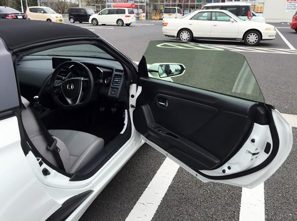 ホンダ・S660 試乗車 α (MT)
