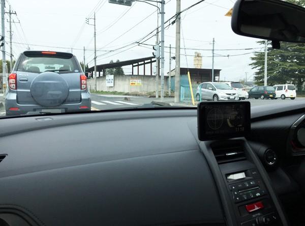 ホンダ・S660 助手席からの視界