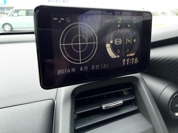 ホンダ・S660 センターディスプレイ