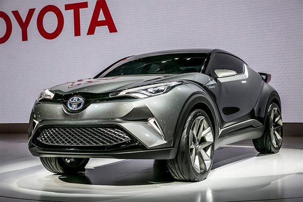 トヨタ・C-HR(コンセプトモデル)
