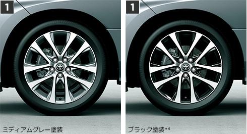 トヨタ・エスティマ 225/50R18 95Vスチールラジアルタイヤ(18×7J切削光輝アルミホイール)