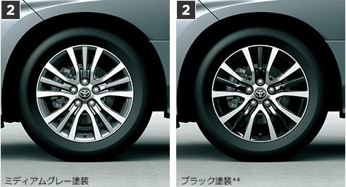 トヨタ・エスティマ 215/60R17 96Hスチールラジアルタイヤ(17×7J切削光輝アルミホイール)
